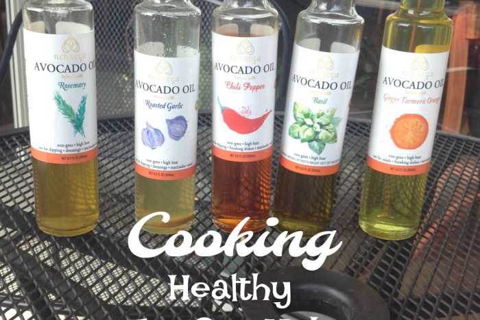 Neomega Avocado Oils are infused with herbs are a healthy substitute for cooking oils.