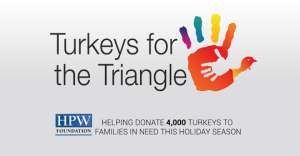 give back, turkeys, triangle, give thanks