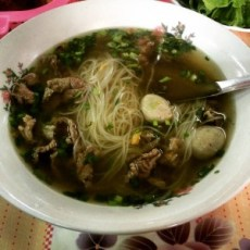 bowl of Pho Laos