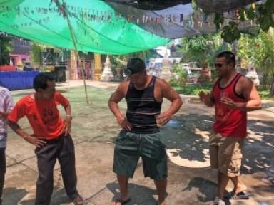 dancing songkran Laos