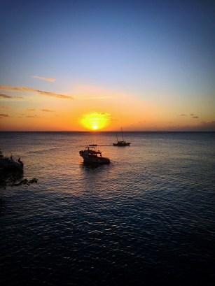 sunset ricks cafe negril, jamaica