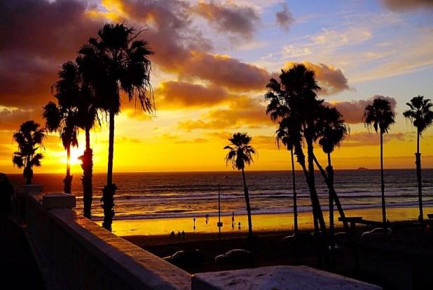 oceanside sunset san diego