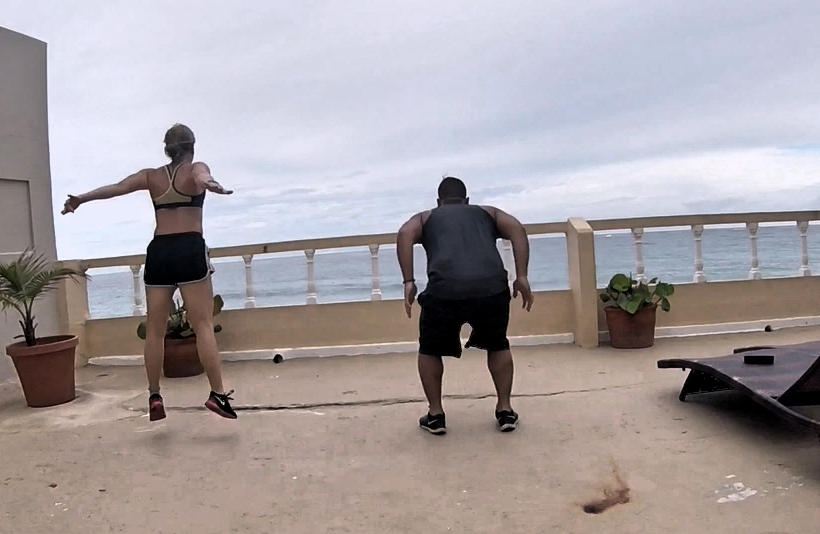 bodyweight workout traveling fittwotravel.com