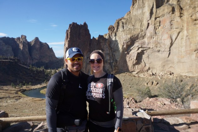 things to do in Bend, Oregon | hike smith rock state park fittwotravel.com