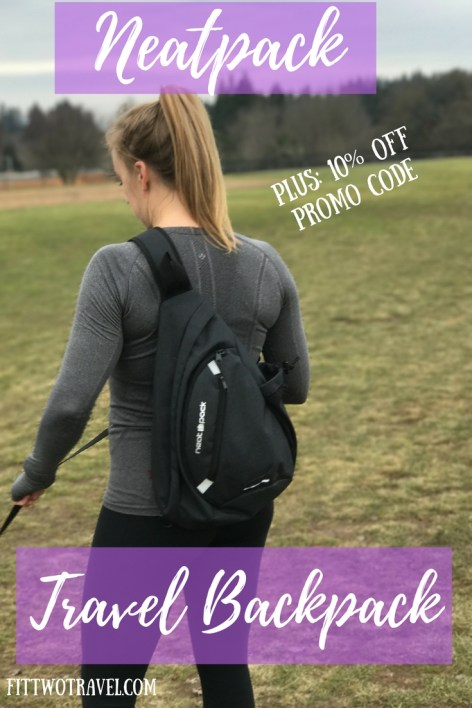 The neat pack sling bag is the perfect travel accessory. Its small, compact and has tons of storage fittwotravel.com