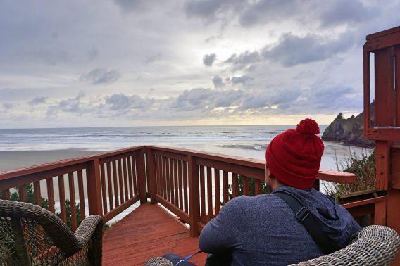 agate beach view