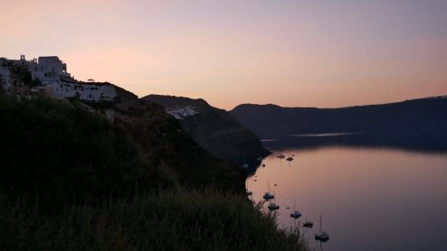 where to watch sunrise santorini fittwotravel.com