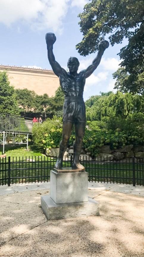 Free Philadelphia walking tour Rocky statue fittwotravel.com
