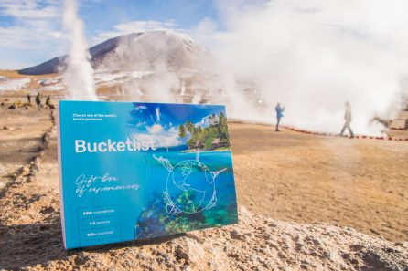Tinggly Bucketlist Experience Gift for Travelers