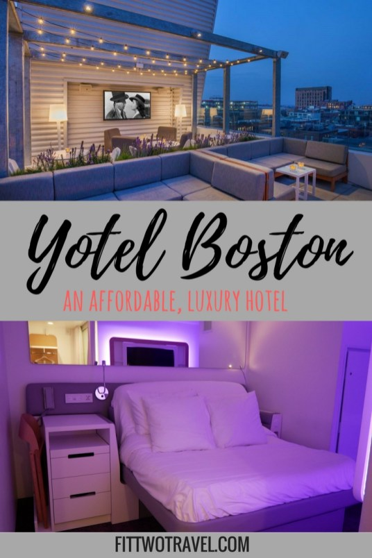 Yotel Boston Hip Affordable Hotel in Seaport | Where to stay in Boston, MA | Hotels in Seaport District Fittwotravel.com