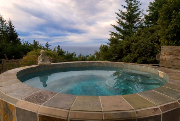 places to stay oregon wildspring outdoor hottub