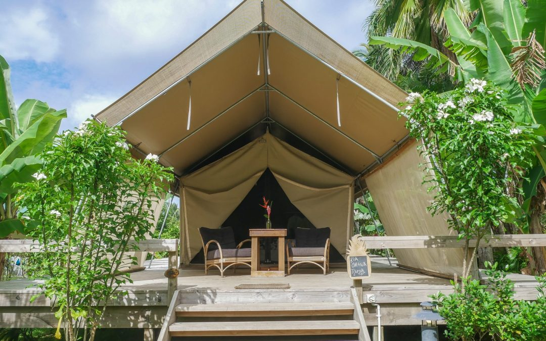 Ikurangi Eco Retreat: Luxurious Glamping in the Cook Islands