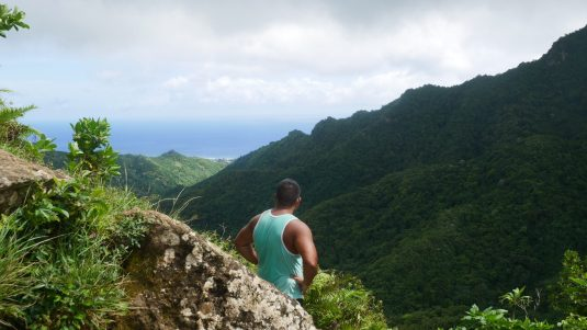 rarotonga cross island trek fittwotravel.com