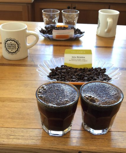 Coffee Cupping Olympia Coffee fittwotravel.com