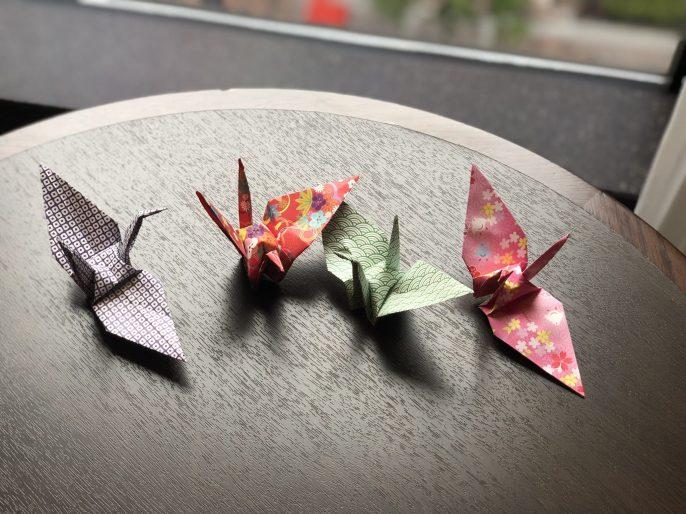 shiba park hotel tokyo sakura origami fittwotravel.com