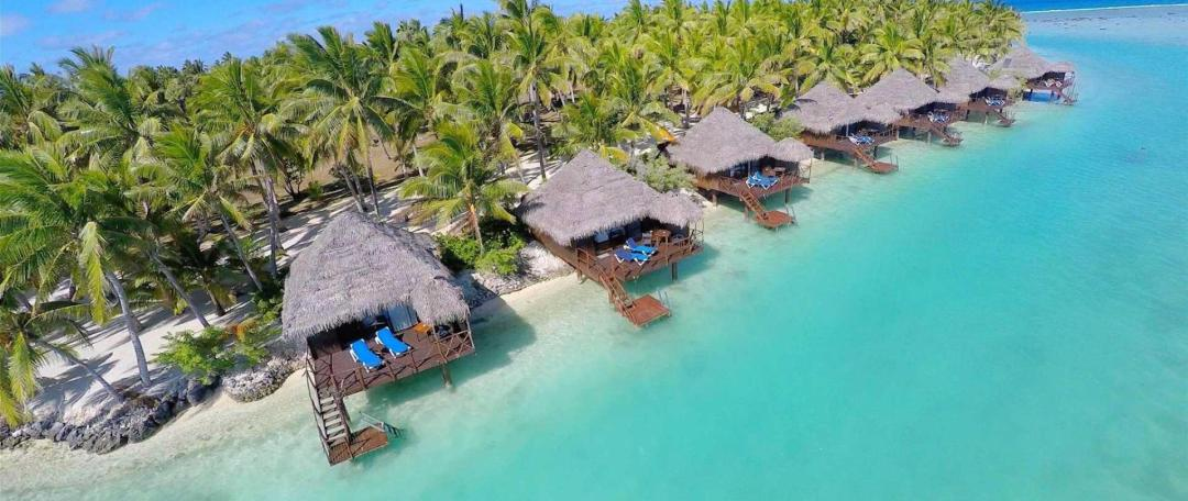 Aitutaki Lagoon Resort and Spa Overwater Bungalows Cook Islands