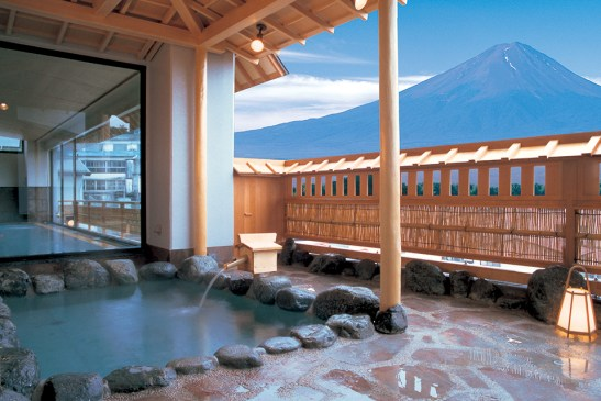 Mt Fuji onsen