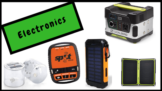 Best gifts for hikers, campers and outdoor adventurers- electronics