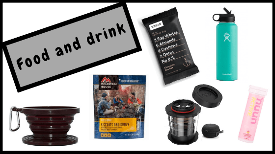 Best gifts for hikers, campers and outdoor adventurers- food and drink