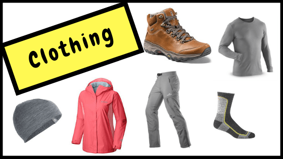 Best gifts for hikers, campers and outdoor adventurers- clothing