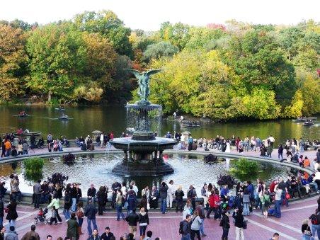Central Park New York City Bethesda Terrace