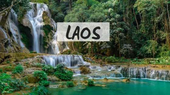 Laos destination page