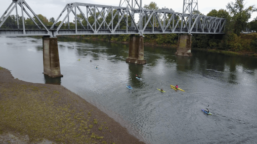 River to Ridge Fit Two Travel kayaking willamette river