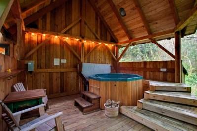 Stormking spa, Romantic cabins in washington state
