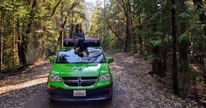 Jucy Campervan rentals USA