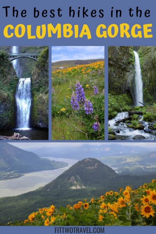 Hiking in the Columbia River Gorge + some of the best waterfall hikes in Oregon #hiking #pacificnorthwest #oregon #washington #columbiagorge