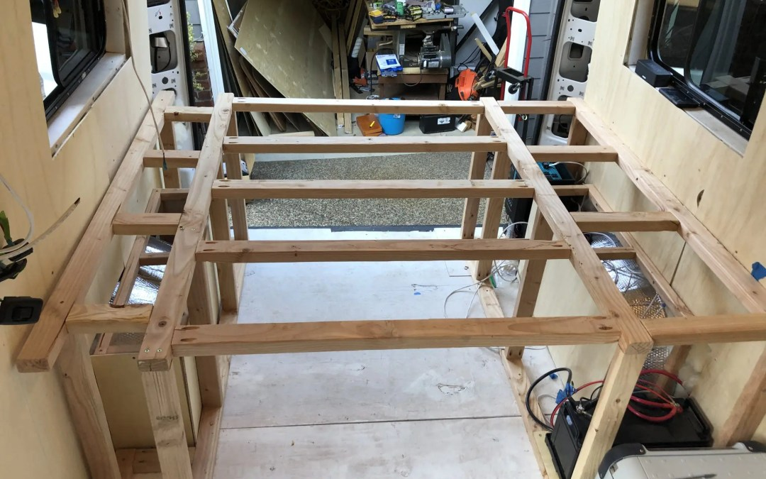 How to Build a DIY Van Conversion Bed Frame