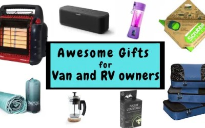Campervan Gifts: 25 Awesome Camping Gift Ideas for Van Lifers
