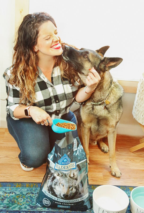 Blue Dog Food, dogs, BLUE, veterans, military, support dogs, service dogs, dog food, Walmart
