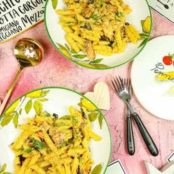 bowl of blt pasta