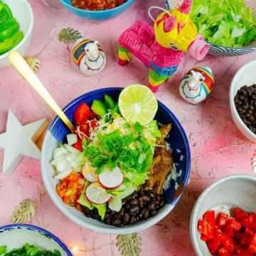 a burrito bowl