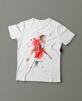 Футболка с принтом Месута Озиля