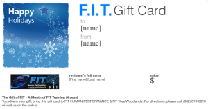 FIT Gift Card