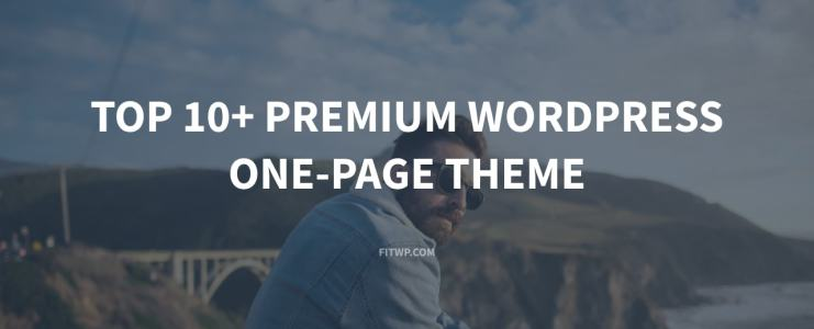 Top 10+ Premium WordPress One-page theme