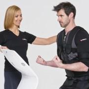 Ems træning med personlig træner mand