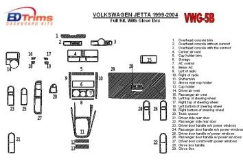 Subaru Legacy 2005-2009 3M 3D Interior Dashboard Trim Kit