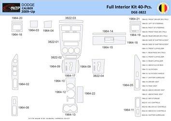 Chrysler Crossfire 2004-2008 manual Real Carbon Fiber Dash