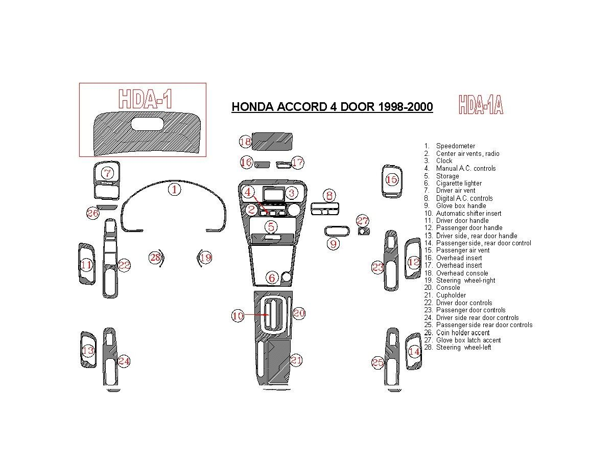 2000 Honda Accord Shop Guides