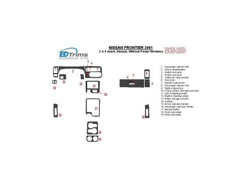 small resolution of nissan frontier 2001 2001 manual gearbox 2 4 doors without power windows