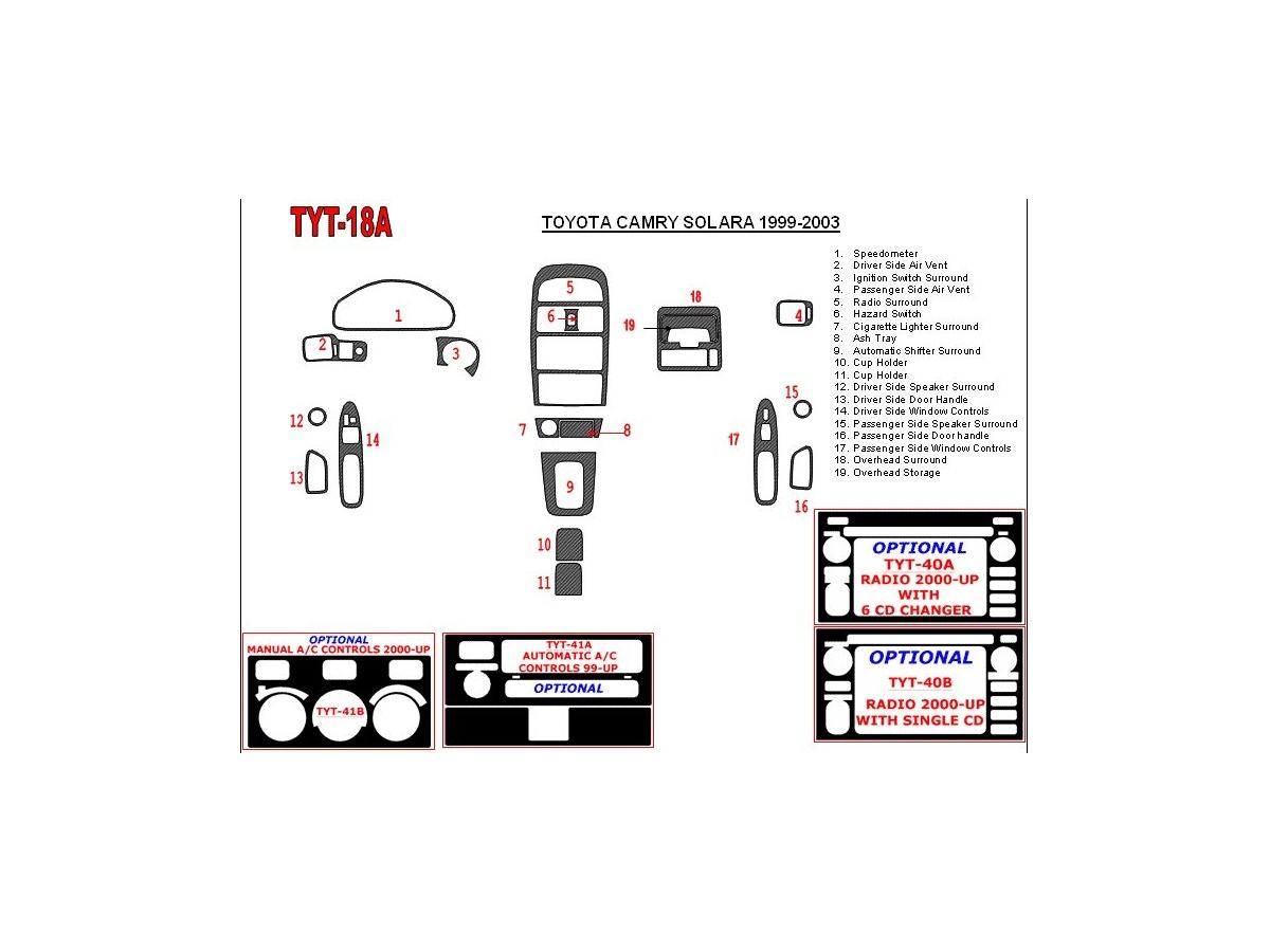 1999 Toyota Camry Ke Parts Diagram • Wiring Diagram For Free