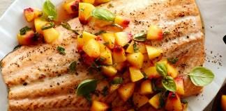 grilled salmon 三文魚