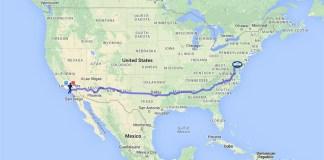 Race across USA 橫越美國