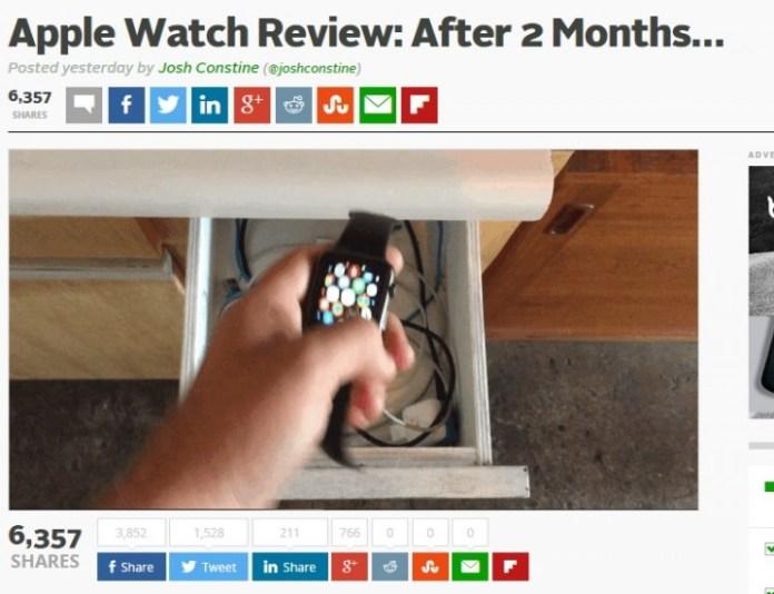 Apple Watch 2個月後的使用報告01
