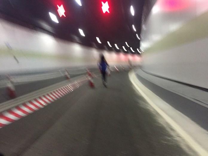 [澳門馬拉松] 孤身走我路05