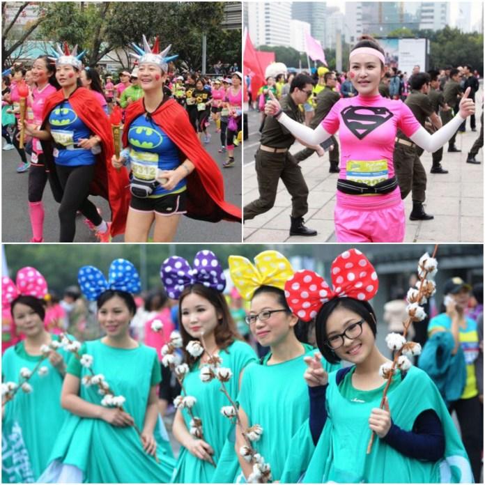 [首踏全女班賽道] 記深圳女子馬拉松2015 二 8