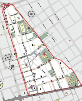 East Marylebone Fitzrovia Map